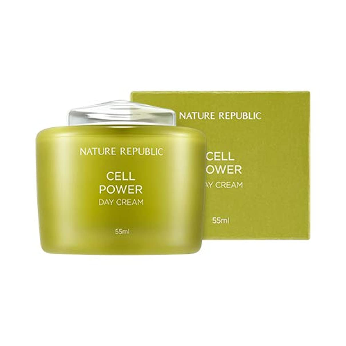 緊張グレード柔和NATURE REPUBLIC Cell Power Day Cream/ネイチャーリパブリック セルパワー デイクリーム 55ml [並行輸入品]