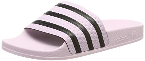 adidas Damen ADILETTE W Dusch- & Badeschuhe, Pink (Clear Pink/Clear Pink/Core Black Clear Pink/Clear Pink/Core Black), 37 EU