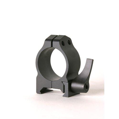 Warne Scope Mounts 200LM 1 inch, QD, Low Matte Rings