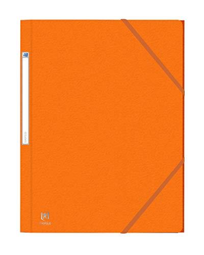 Oxford Eurofolio elastomap A4 - pak 10 oranje
