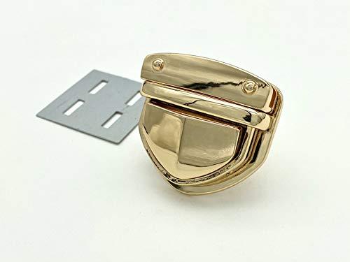Zink-Legierung für die Handtasche Handtasche, die Kasse mit Schloss, Nickel, poliertes Nickel, Grau, gold, Gold, mit Bronze, 1pro Stück 4cm x 4.1cm goldfarben