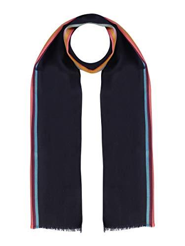 Paul Smith Luxury Fashion M1A454DAS2247 Sjaal voor heren, blauw-seizoen, permanent