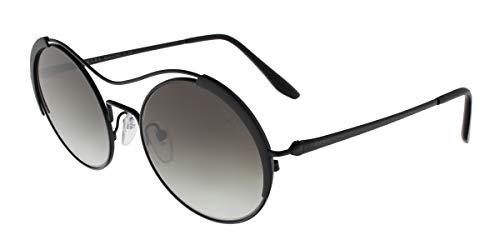 Prada 0PR 55VS Gafas de sol, Black/Matte Black, 53 para Mujer
