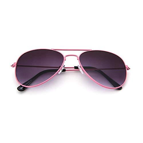 Ba30DEllylelly Fashion Flash/Mirrored Aviator Kids Sonnenbrille 100% UV-beständige Flexible Baby-Sonnenbrille