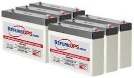 APC Smart-UPS 1500 Rack Mount (SMT1500RM1U) Compatible Replacement Battery Kit