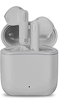 Wireless Earbuds,Otium Bluetooth Earbuds Hi-Fi Stereo Noise Cancelling Earphones 30H Playtime Bluetooth 5.0 Headphones Touch Control Waterproof Headset with Charging Case/Microphone  Grey