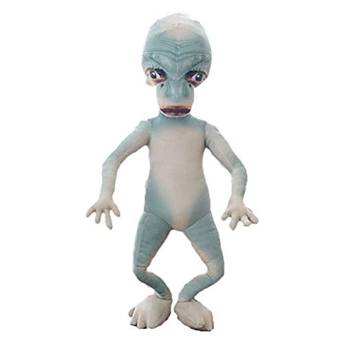 Daxoon Alien Plüschtier Weiche Lebensechte lustige Außerirdische Puppe Geschenk für Kinder