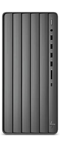 HP Envy Desktop TE01-1023ns PC - Ordenador de sobremesa (Intel Core i7-10700F, 32 GB RAM, 1 TB SSD, NVIDIA GTX 1650 Super 4GB, FreeDOS) Negro