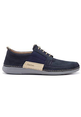 Fluchos - Zapato con Cordones delbuck Marino - Marino, 39