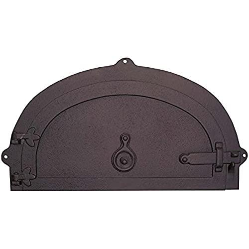 Fonderie Lacoste 0363 Porte de Four, Noir, 48 x 16 x 26 cm