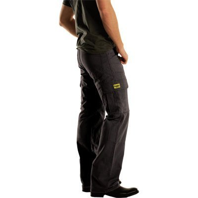 Drayko Jean Men's Cargo Street Motorcycle Pants - Black