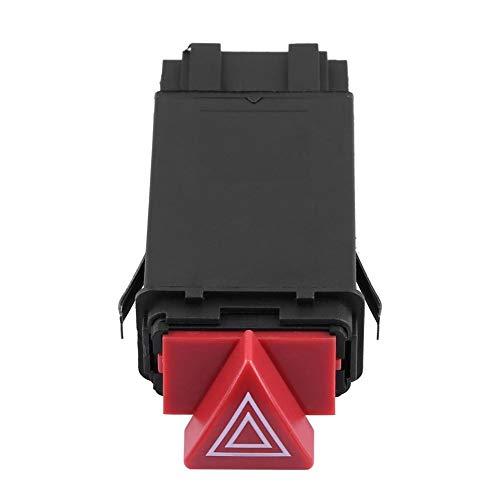 Interruptor de advertencia de peligro para Audi A4 S4 8D0941509H Interruptor de luz de advertencia Interruptor intermitente de emergencia de peligro Botton