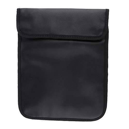 Mengshen Tablet Sleeve, Signal Blocking Anti-Radiation Bag - Suitable for 9.7' iPad Pro/iPad Air 2 / iPad Air/iPad 4, 3, 2, Other Tablets (Black)