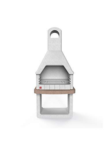 Xodo Store SAROM Grill aus Mauerwerk, Modell ARLON, Holzkohlegrill