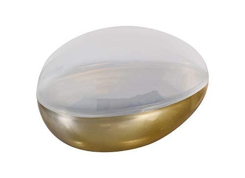 Metallic Fillable Jumbo Plastic Eggs