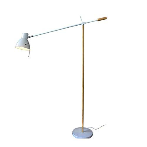 Moderne minimalistische leeslamp voor slaapbank, van massief hout, tafel W1/4