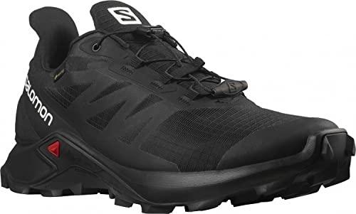 SALOMON Shoes Supercross 3, Zapatillas de Trail Running Hombre, Black/Black/Black, 42 EU
