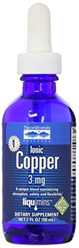 Trace Minerals Liquid Ionic Copper Supplement, 2 Ounce