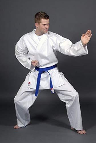 Asia Sports Karate Anzug Master, 16oz Drill, Hose mit Gummizug, Gr. 190