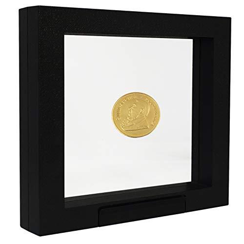 SAFE 4510 Schweberahmen schwarz 27,5x 22,5 cm - Münzrahmen - Objektrahmen - Münzständer 3D Rahmen für Ihre Münzen uvm.