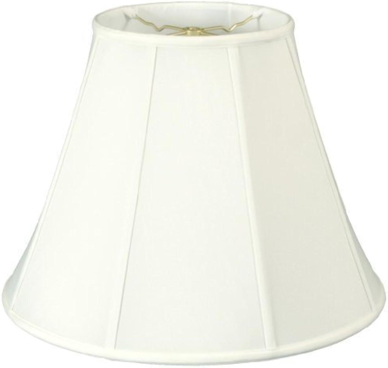 Royal Designs Deep Empire Lamp Shade, White, 9 x 18 x 14