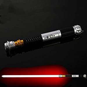NANDAN Star Wars Lightsaber Sword 11 RGB Color Cambio de Sonido FOC FOC Láser Sable FX Metal Handle Heavy Dueling 5 Sets… 9