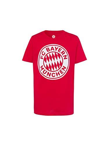 FC Bayern München T-Shirt Logo Uni Kids rot, 128