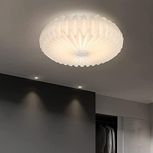 DIRIGIÓ Luces de Techo Moderno Dimmable Dormitorio Blanco Luz del Techo Sala de Estar Interior Lámpara de Techo Redonda para Comedor Cocina Salón Lighting Lighting