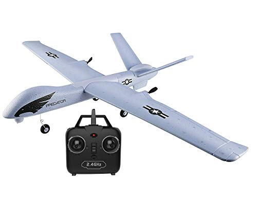 RC Plane, 2.4 Ghz 2 Channels Remote Control Airplane Ready to Fly, EPP Material 660mm with Wingspan 3-Axis Gyro, RC Airplane for Kids & Adults,Stability Flight RC Aircraft for Beginner