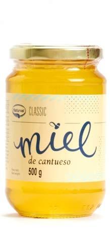 Miel de Cantueso de España 500 grs - Miel Pura de Abejas 500 grs - Miel Natural 100% 500 grs
