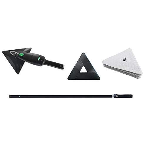 Unger oppervlaktereiniger Stingray Set 160 OS (voor gladde oppervlakken, incl. handgereedschap, stang, adapter + 25 Quik Pads) SRKOD, groen, groot