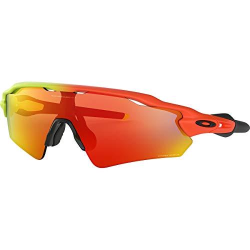Oakley Youth Radar EV XS Path Asian Fit Sunglasses,OS,Harmony Fade/Prizm Ruby