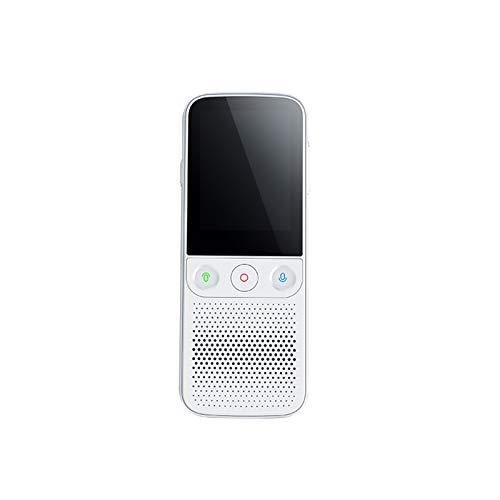 Smart Translator Device Language Translator Device with Touch Screen Offline Portable Language Translation Device with Camera Support 138 Languages T10 PRO (White)