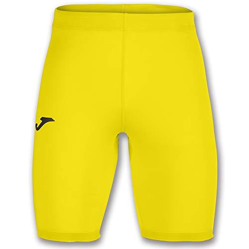 Joma Academy Pantalon Termico Caballero, Hombres, Amarillo, S/M