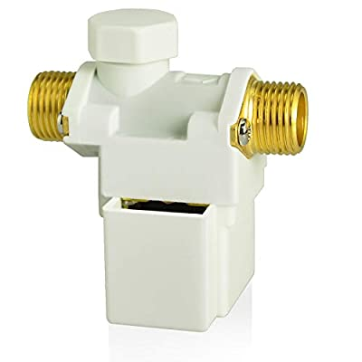 """Taisher 1PCS 12V Plastic Water Electric Solenoid Valve Normally Closed 1/2"""" G from Tasher"""
