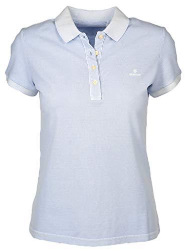GANT Damen Poloshirt Größe XL Blau (blau)