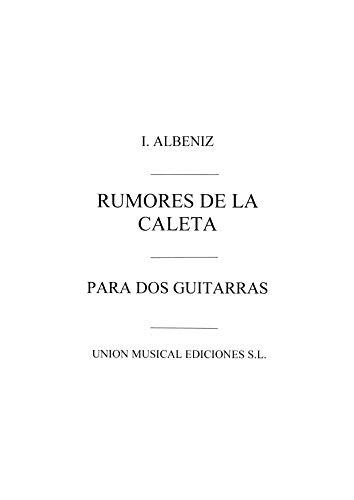 Isaac Albéniz-Albeniz Rumores De La Caleta Malaguena-Gitarre-BOOK
