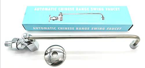 Automatic Chinese Wok Range Swing Faucet Mfg: Sunny USA