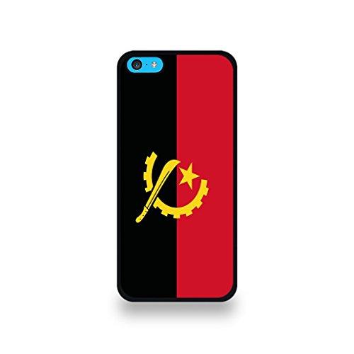 LD Case COQIP5C_7 beschermhoes voor iPhone 5C met Angola vlag