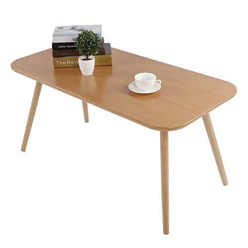 Cikonielf Esstisch, moderner Couchtisch aus Holz, für Wohnzimmer, Küche, Heimbüro, 100 x 50 x 48,5 cm