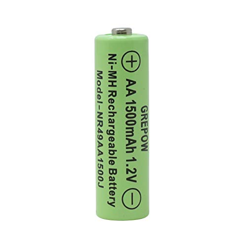 Moonrays 97147 AA 1500mah-4 Pack NiMh, Silver