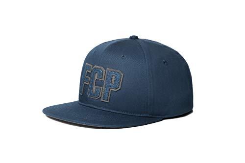 FC PORTO verstellbar Snapback Team Farbe gebogen Bill Fußball Hat, Navy/Blue/Gray, Einheitsgröße