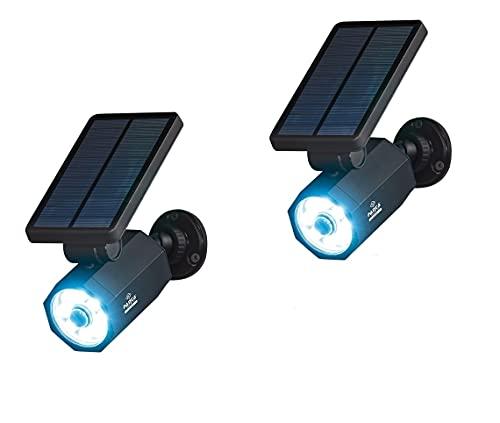 Panta Safe Light Solar Pro   Doppelpack   Solarleuchte mit Bewegungssensor   400 Lumen Leuchtkraft   Das Original aus dem TV
