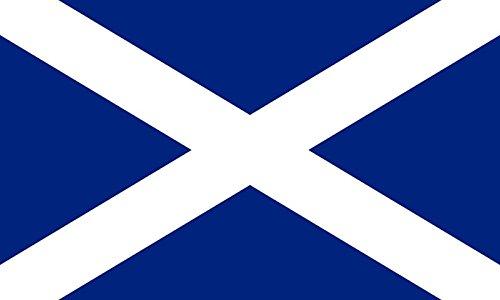 Etaia 8x12 cm Auto Aufkleber Fahne / Flagge von Schottland Scotland Sticker Motorrad Handy Europa Länder