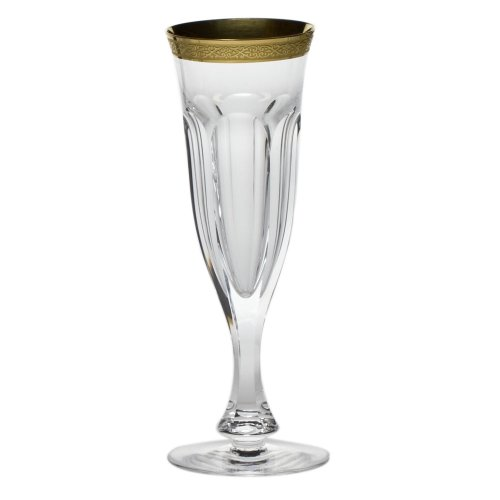 Moser Crystal Lady Hamilton Clear Champagne Flute