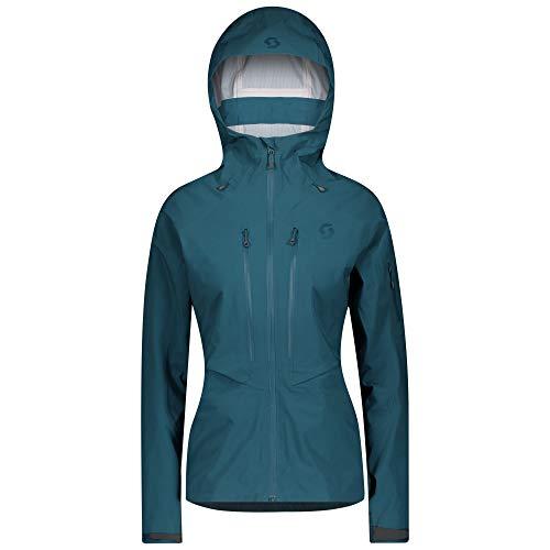 Scott W Explorair DRX 3L Jacket Blau, Damen Dermizax™ Windbreaker, Größe XL - Farbe Majolica Blue