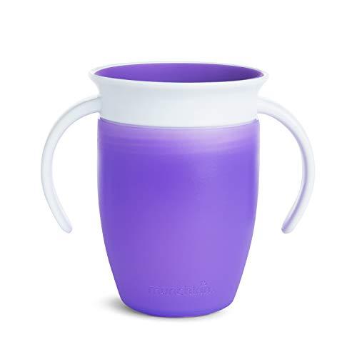 Munchkin Tasse d'Apprentissage Miracle 360° Violette 207 ml 1 Unité 051621