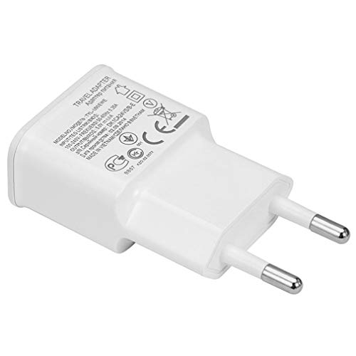TW1000 Adaptador de Cargador de Pared USB de la UE para Samsumg Galaxy Series 7100 S3 S4 i9500 Accesorios para teléfonos móviles (WhiteEU)
