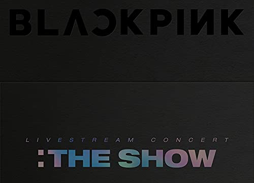 MUSIC&NEW Blackpink 2021 The Show DVD + cartes photos supplémentaires