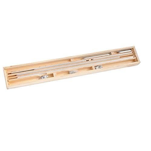 Winkelschablone/Treppen-Schablone/Treppenlehre im Holzkoffer (1)